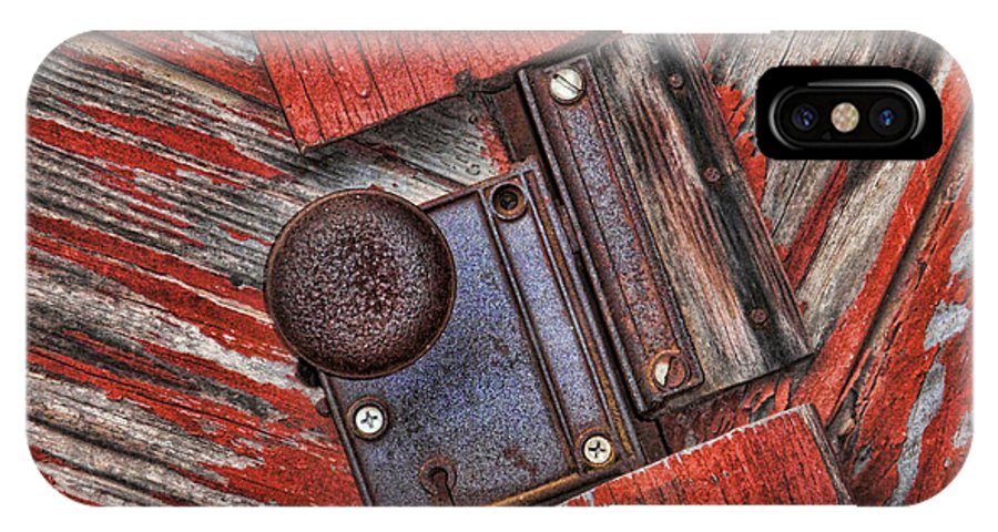 Rusty IPhone X Case featuring the photograph Rusty Dusty And Musty by Kathy Clark