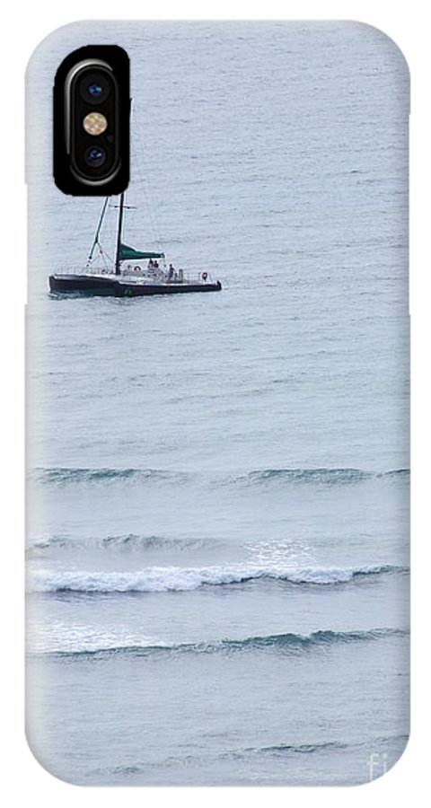 Mary Deal IPhone X Case featuring the photograph Sailing In For The Evening by Mary Deal