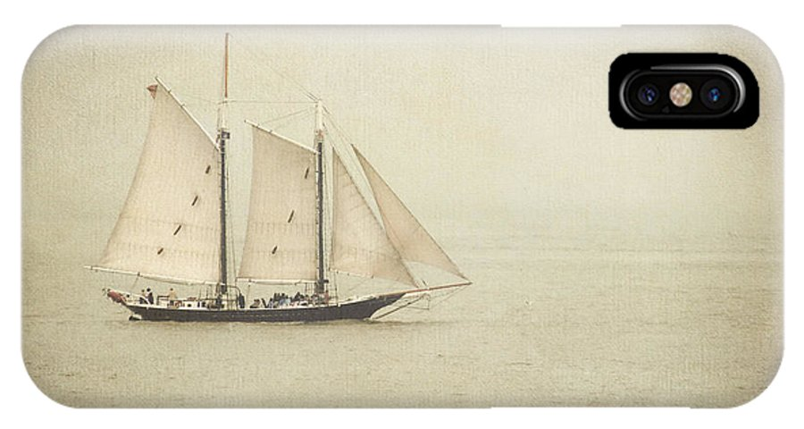 Sailing IPhone X Case featuring the photograph Sailing Ship by Hannes Cmarits