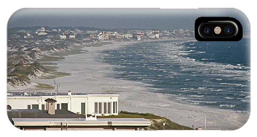 Beach IPhone X Case featuring the photograph Sandestin by Carol Bradley