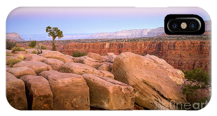 Arizona IPhone X Case featuring the photograph Sandstone Puzzle by Idaho Scenic Images Linda Lantzy