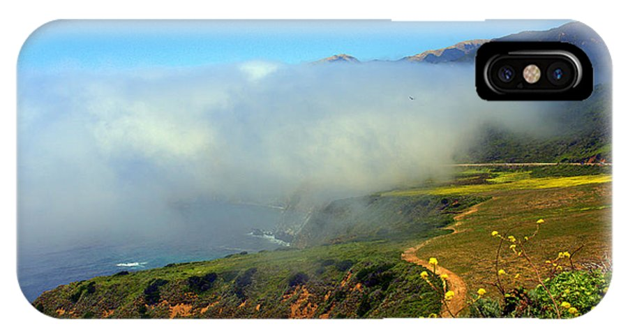 California IPhone X Case featuring the photograph Scenic Pacific Coast by Caroline Stella