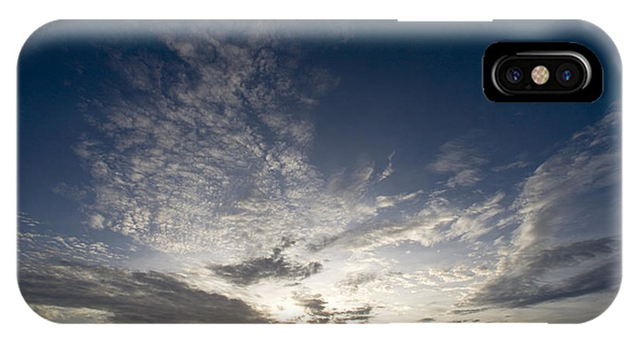 Nobody IPhone X Case featuring the photograph Scenic Sunset Over Malapascua Island by Tim Laman
