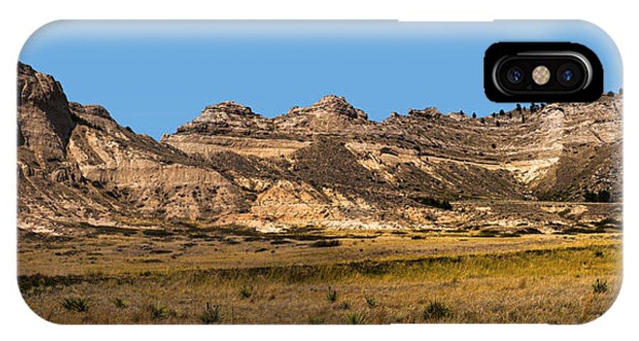 Scenic Western Nebraska IPhone X Case featuring the photograph Scenic Western Nebraska by Edward Peterson