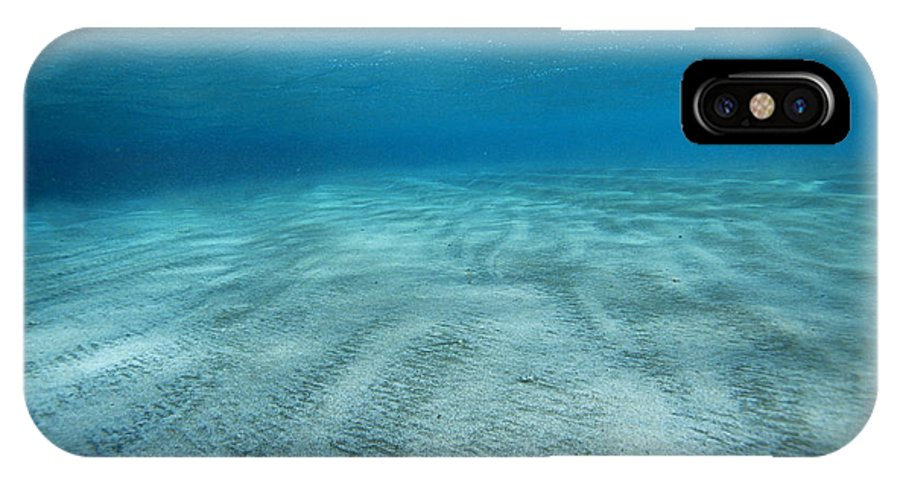 Abu Dabbab IPhone X / XS Case featuring the photograph Seabed by Alexis Rosenfeld