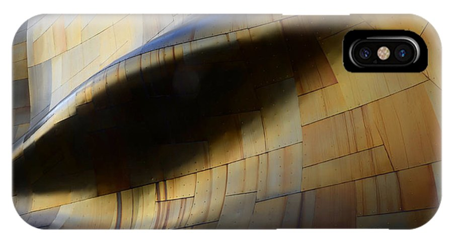 Emp Building IPhone X Case featuring the photograph Seattle Emp Building 6 by Bob Christopher
