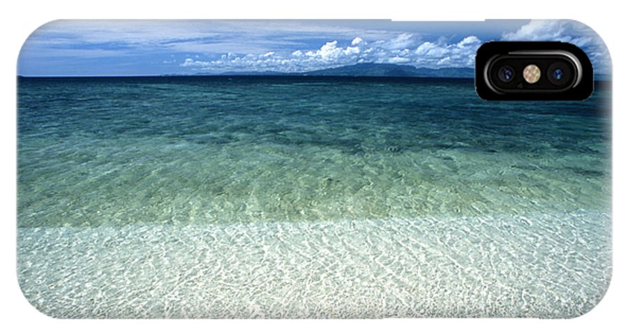 Fiji IPhone X Case featuring the photograph Secluded White Sands Beach by James Forte