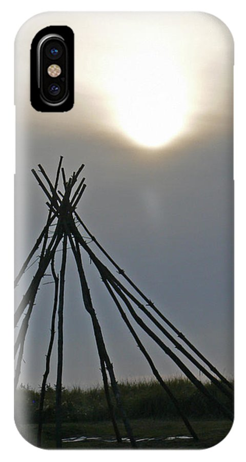 Native IPhone X / XS Case featuring the photograph Shadow Dreams by Pamela Patch