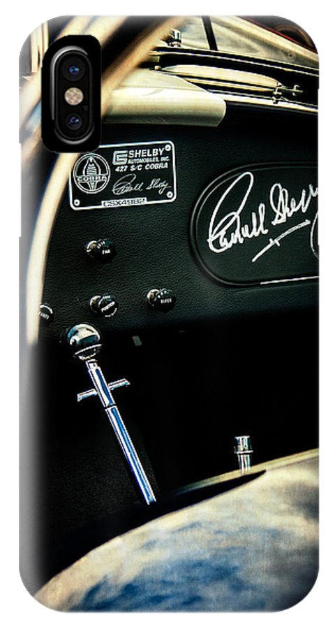 Shelby Cockpit IPhone X Case featuring the photograph Shelby Cockpit by Paul Bartell