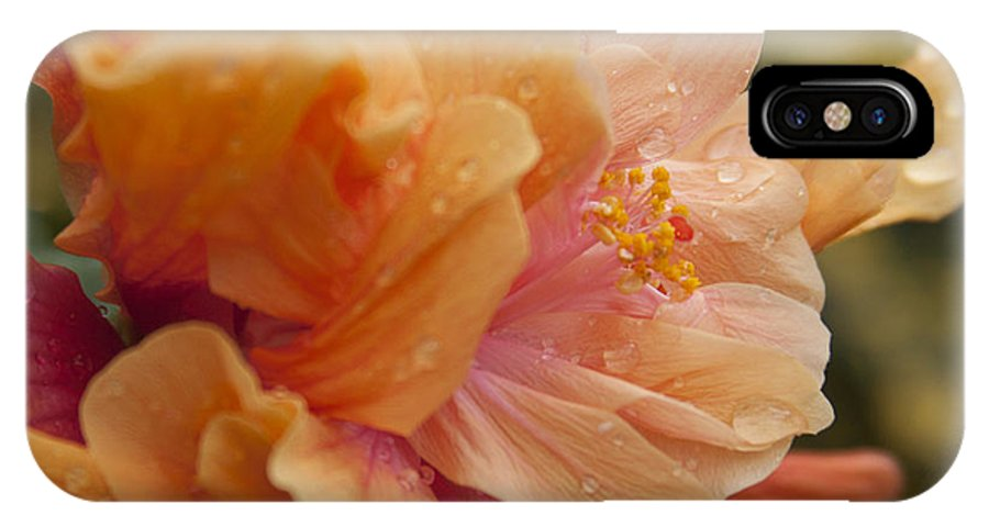 Aloha IPhone X / XS Case featuring the photograph Silenzio Del Momento by Sharon Mau
