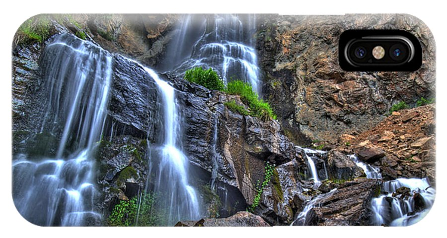 Colorado IPhone X / XS Case featuring the photograph Silver Falls by Scott Mahon