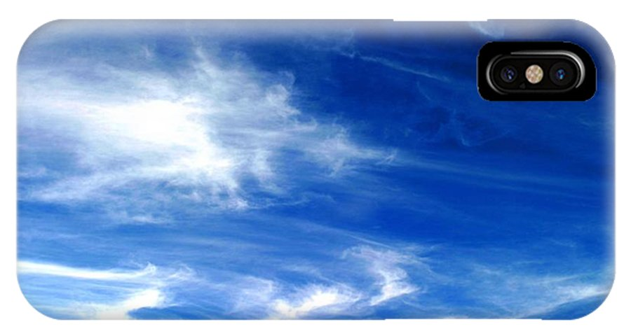 Air IPhone X Case featuring the photograph Sky by Henrik Lehnerer