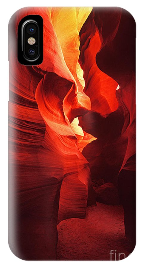 Slots IPhone X Case featuring the photograph Slots On Fire by Paul W Faust - Impressions of Light