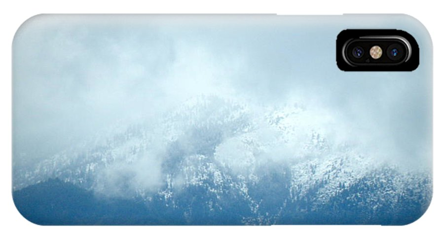 IPhone X Case featuring the photograph Snowy Hill by William McCoy
