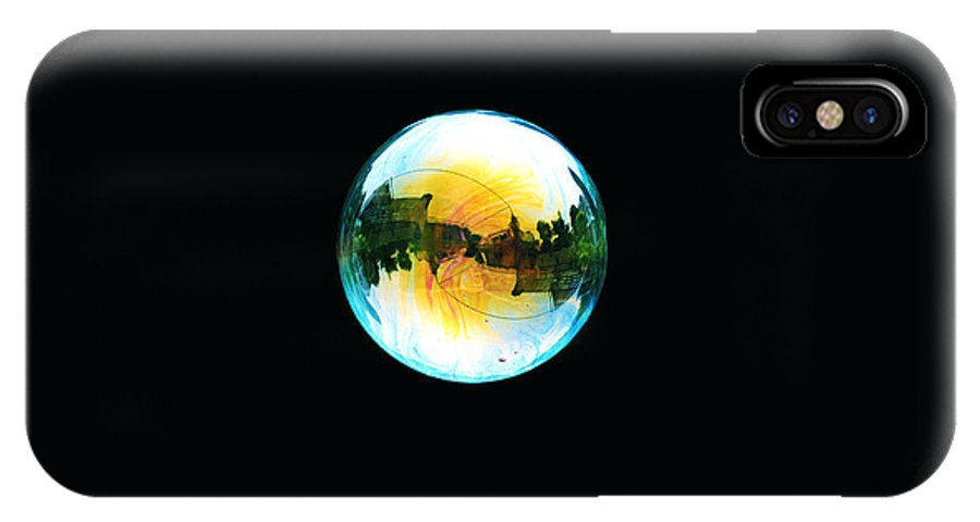 Bubble IPhone X Case featuring the photograph Soap Bubble by Sumit Mehndiratta
