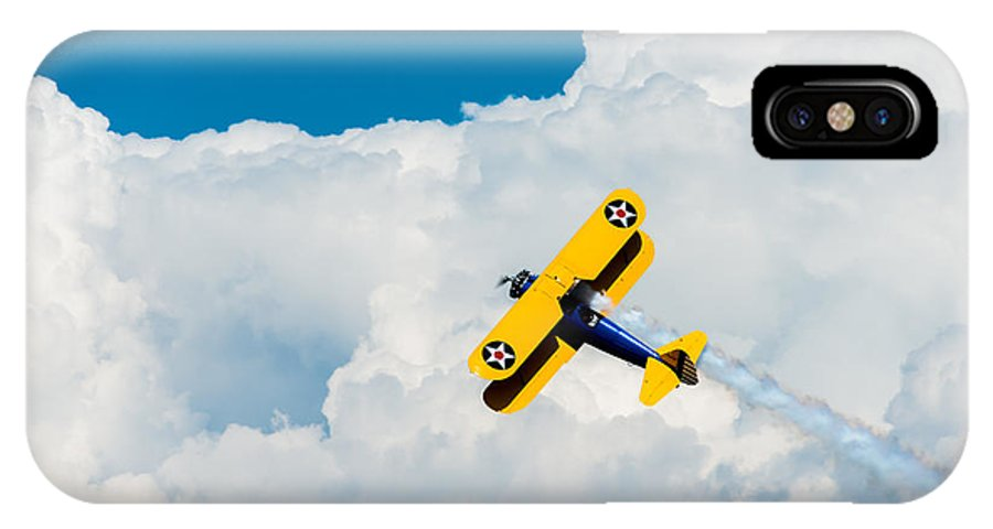 Eaa IPhone X Case featuring the photograph Soar by Christina Klausen