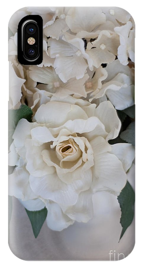 Floral IPhone X Case featuring the photograph Soft Floral by Anne Kitzman