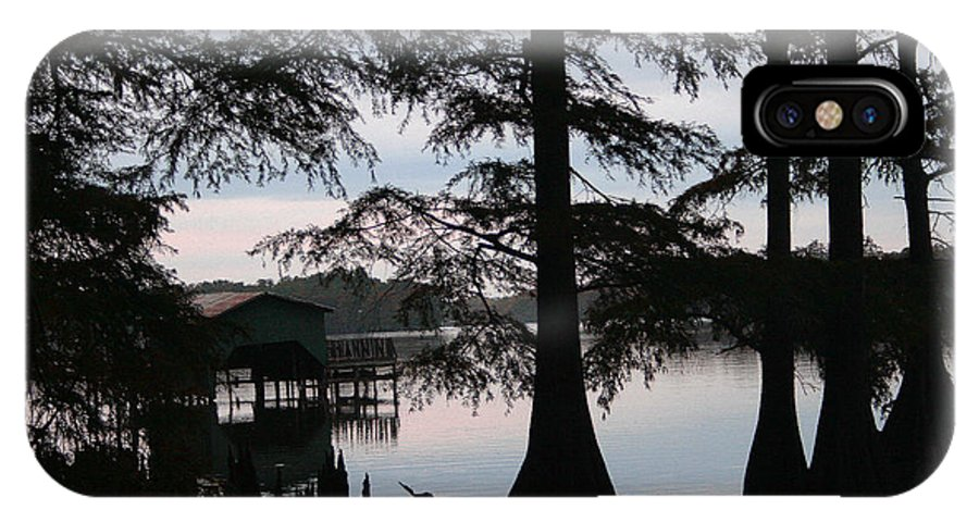 Pm IPhone X Case featuring the photograph Southern Lake by Nina Fosdick