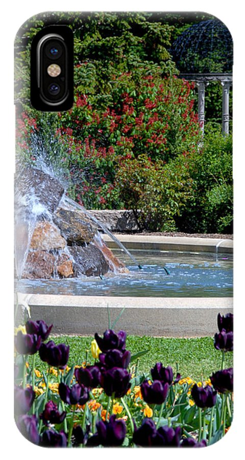 Maymont IPhone X Case featuring the photograph Spring At Maymont by Kelvin Booker