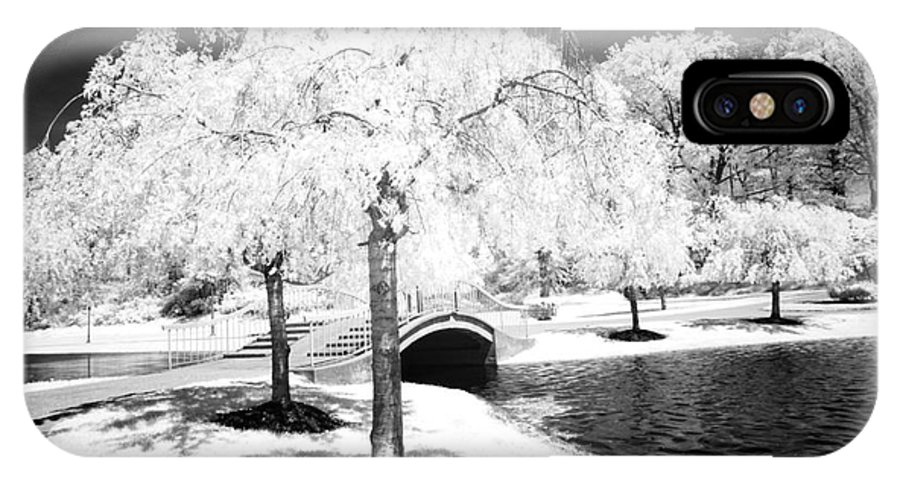 Infrared IPhone X Case featuring the photograph Spring In Infrared by Paul W Faust - Impressions of Light
