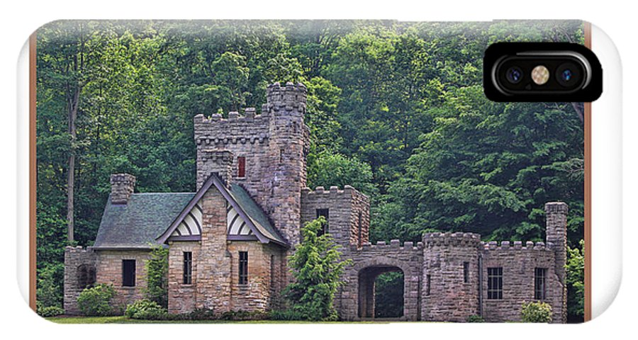 Squires Castle IPhone X Case featuring the photograph Squires Castle by Jack Schultz