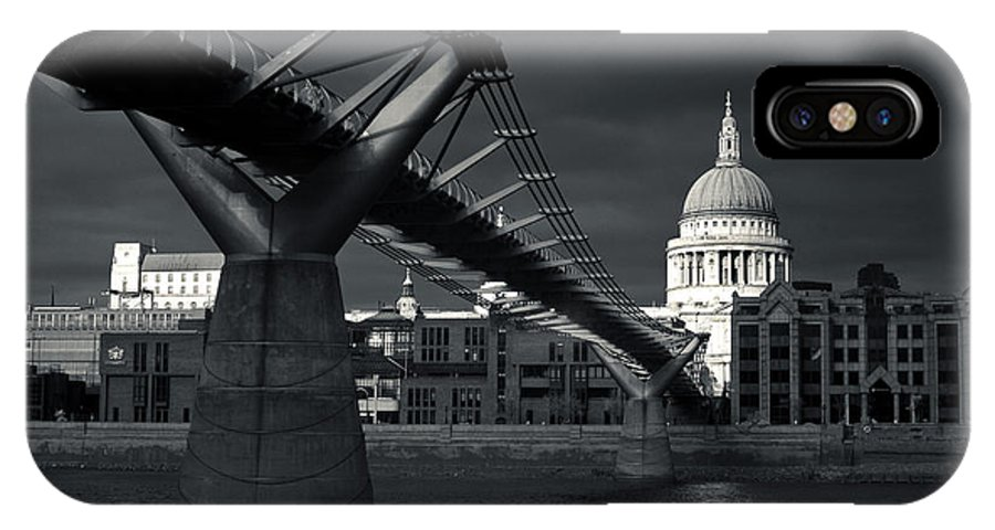 St IPhone X Case featuring the photograph St Pauls Cathedral by Andy Linden