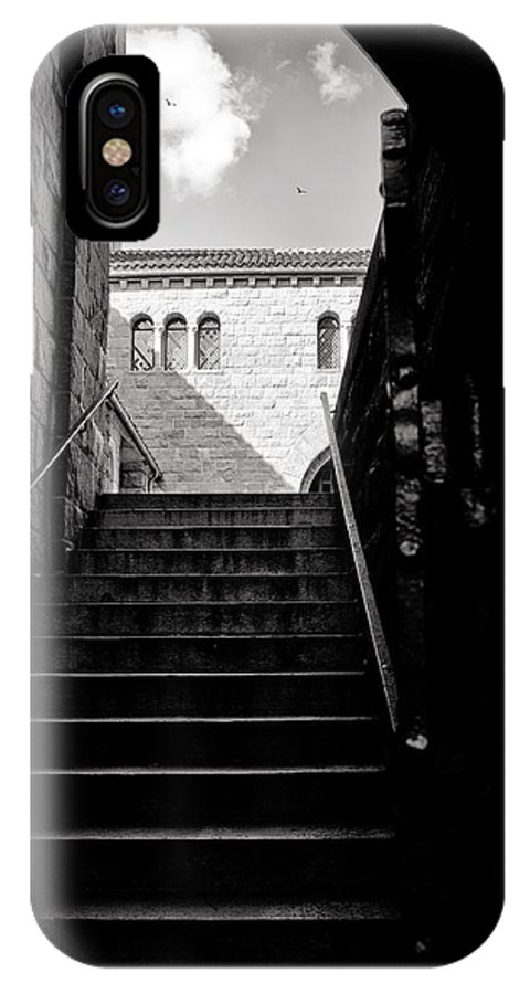Stairs IPhone X Case featuring the photograph Staircase by Madeline Ellis