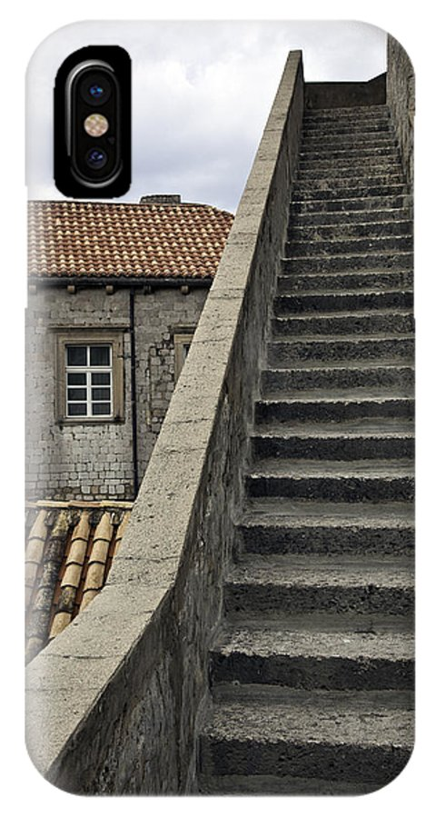 Stairs IPhone X Case featuring the photograph Stairs 1 by Madeline Ellis