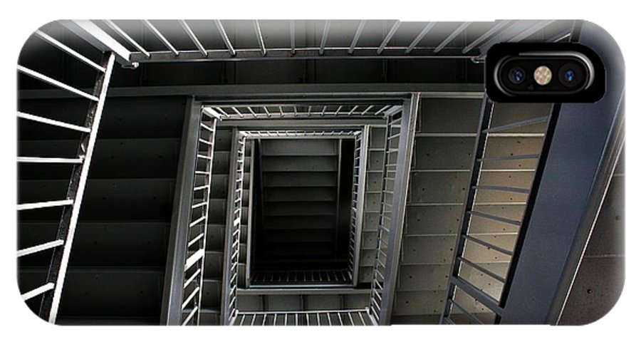 Architecture IPhone X Case featuring the photograph Stairway To.... by Ronnie Glover