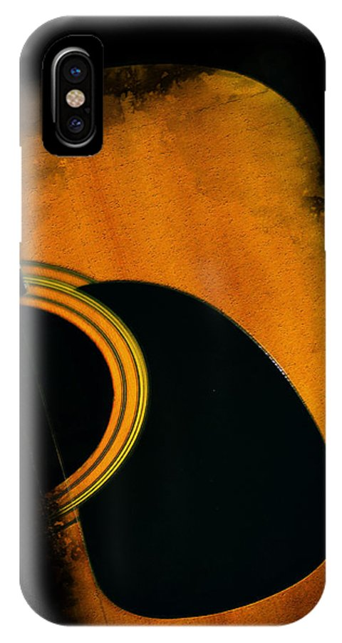 Standing In The Shadows IPhone X Case featuring the photograph Standing In The Shadows by Bill Cannon