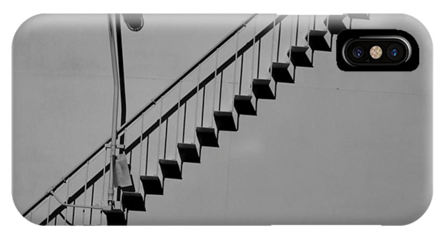 Steps IPhone X Case featuring the photograph Steps In The Shadows by Kelvin Booker