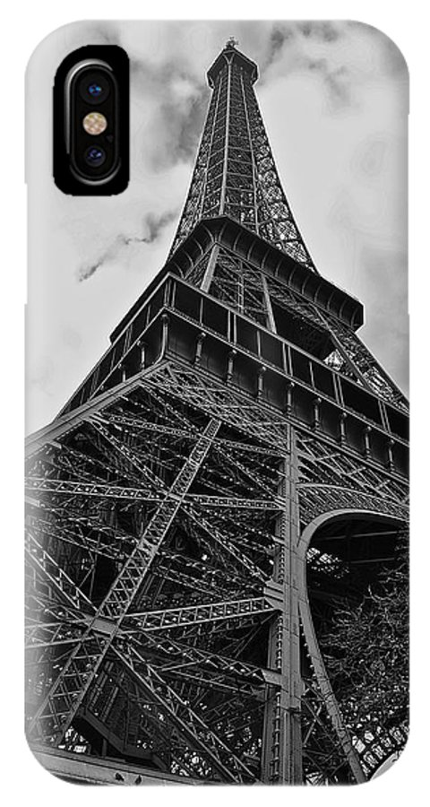 Eiffel Tower IPhone X Case featuring the photograph Still Standing by Eric Tressler