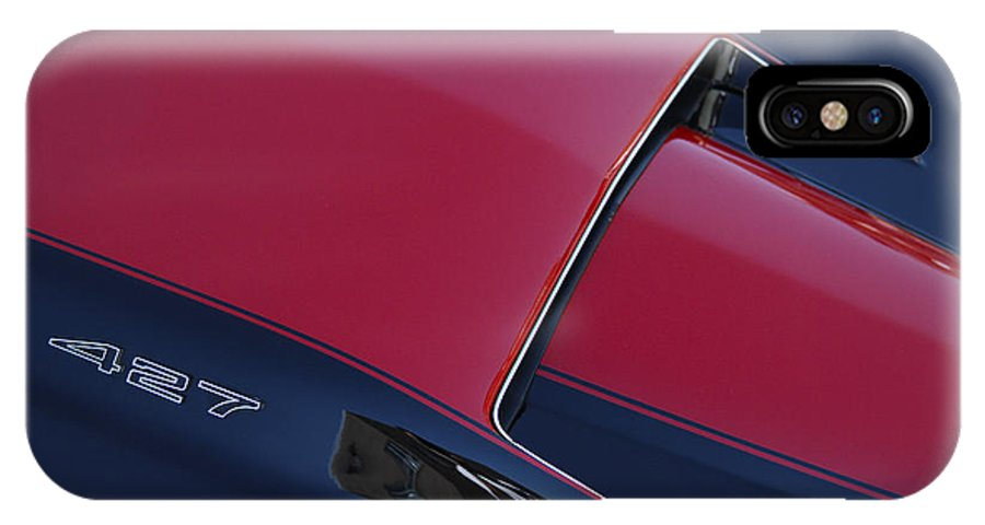 Corvette IPhone X / XS Case featuring the photograph Stinger by Dennis Hedberg