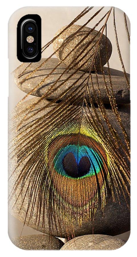 Photo IPhone X / XS Case featuring the photograph Stone Heart by Pedro Cardona Llambias