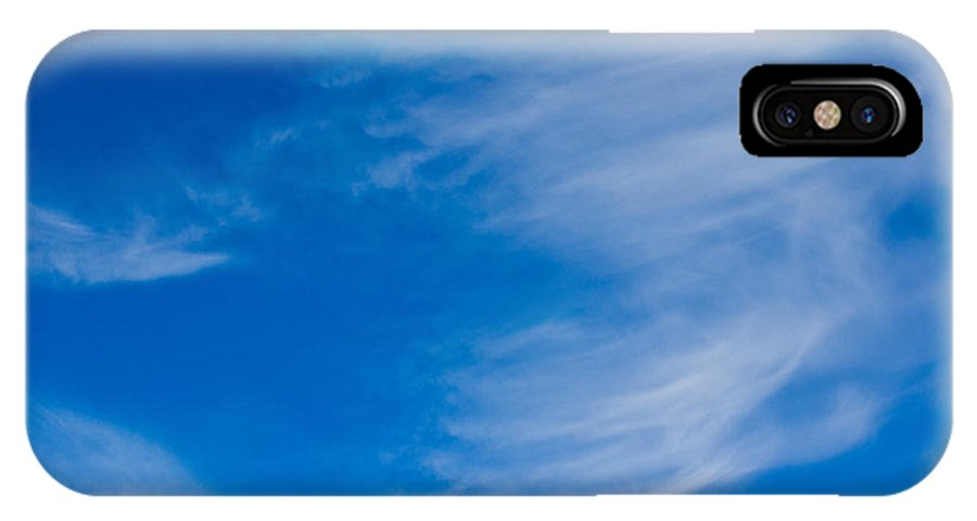 Clouds IPhone X / XS Case featuring the photograph Summer Cloud Images by David Pyatt