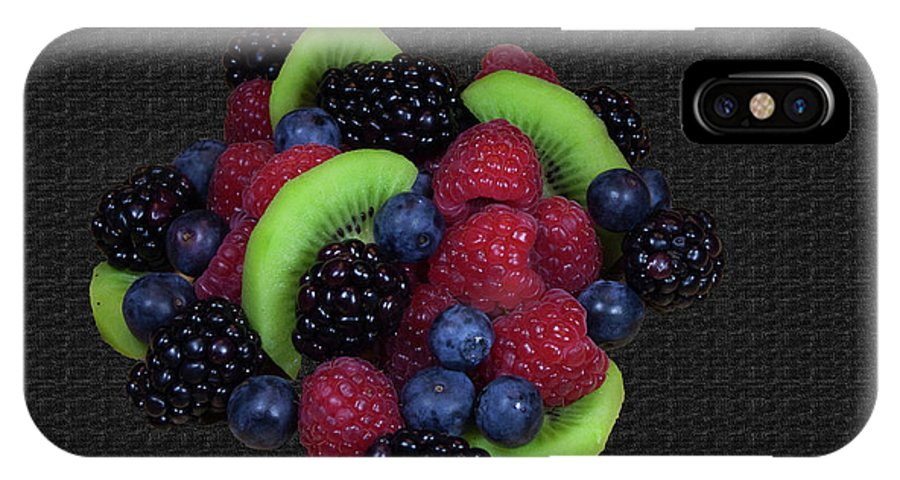 Fruit IPhone X Case featuring the photograph Summer Fruit Medley by Michael Waters
