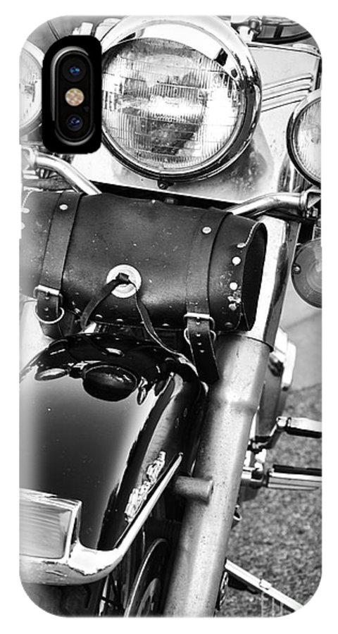 Motorcycle IPhone X Case featuring the photograph Summer Time by Traci Cottingham