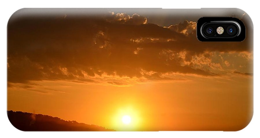 Sunny IPhone X Case featuring the photograph Sunny Side Upward by Maria Urso