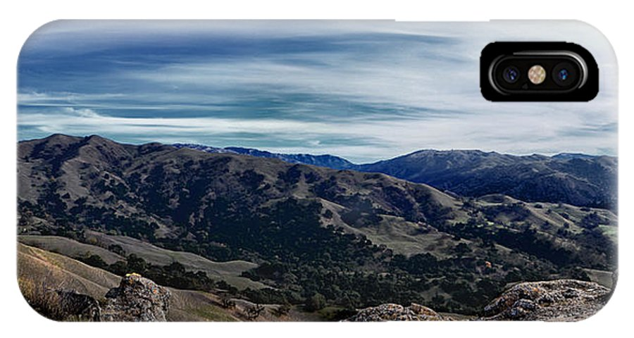 Sunol IPhone X Case featuring the photograph Sunol Panorama by Karen W Meyer