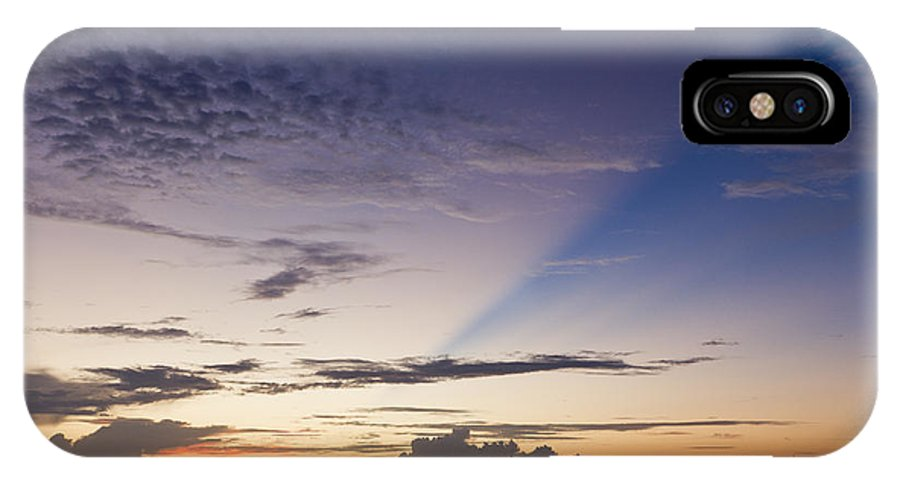 Sunset Over Charleston South Carolina IPhone X Case featuring the photograph Sunset Over Charleston South Carolina by Dustin K Ryan