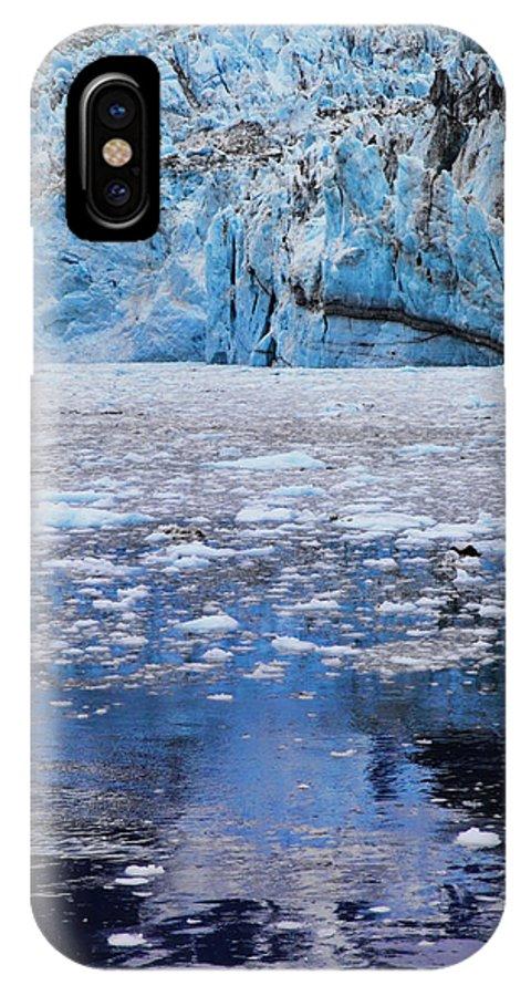 Alaska IPhone X Case featuring the photograph Surprise Glacier by Rick Berk