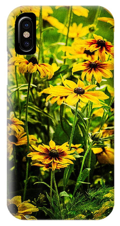Floral IPhone X Case featuring the photograph Surprise by Randy Wood