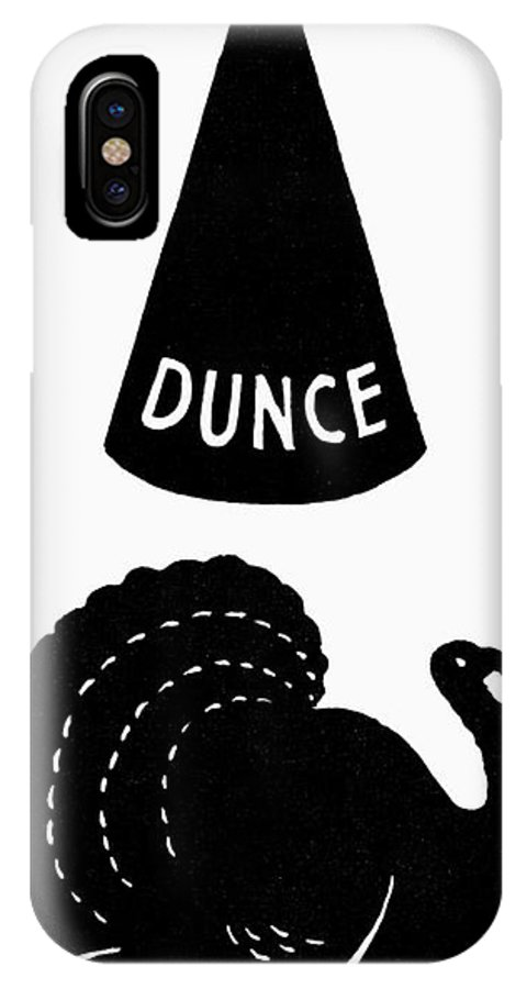 Bird IPhone X / XS Case featuring the photograph Symbols: Failure by Granger