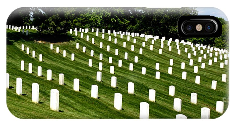 Arlington Cemetry IPhone X Case featuring the photograph Symetry by Pravine Chester