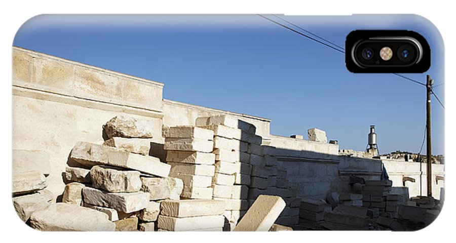 Interesting IPhone X Case featuring the photograph Tall Shadows Goreme Streets by Kantilal Patel
