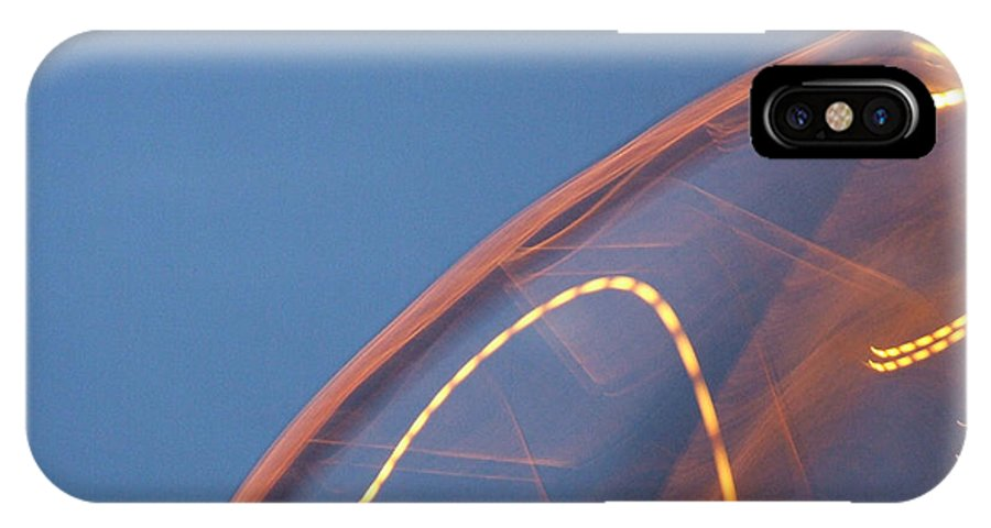 Travel IPhone X Case featuring the photograph Thai Bridge Abstract by Lyle Barker