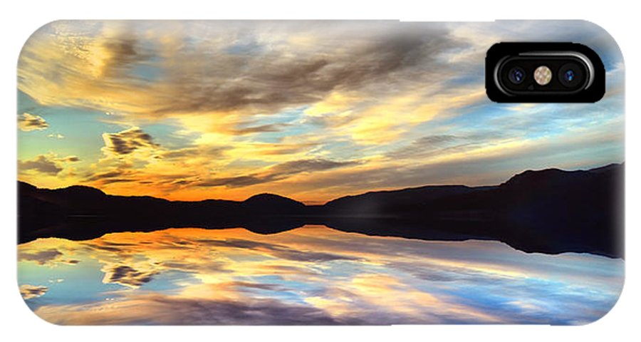 Sunset IPhone X Case featuring the photograph The Beauty Before The Darkness by Tara Turner