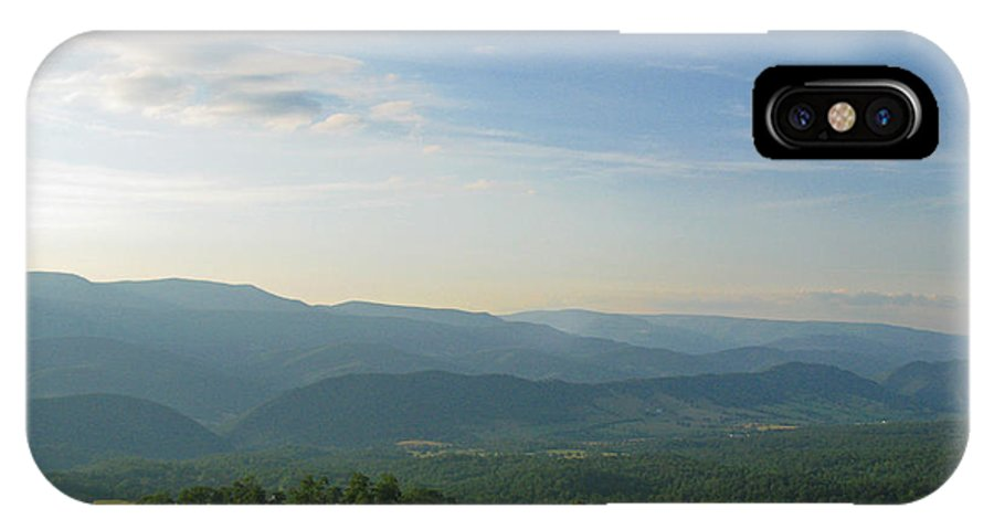 Blue Ridge Mountains IPhone X Case featuring the photograph The Blue Ridge Mountains In July 01 by Ausra Huntington nee Paulauskaite