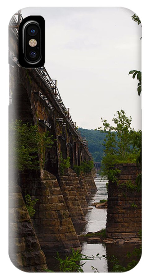 Bridges IPhone X Case featuring the photograph The Bridge by Robert Margetts