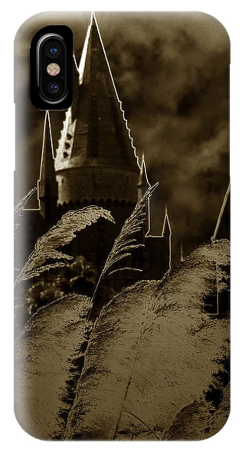 Fine Art Photography IPhone X Case featuring the photograph The Castle by David Lee Thompson